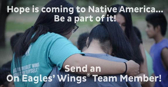 Send an On Eagles Wings team member!